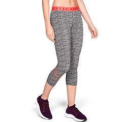 Women's Under Armour Favorite Graphic Low-Rise Capri Leggings