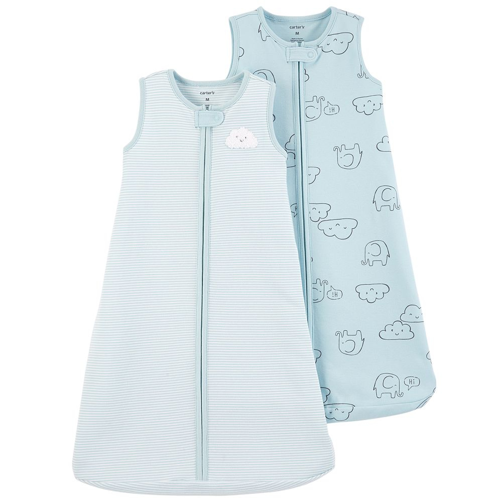 Baby Boy Carter's 2-pack Cloud & Elephant Sleep Bag