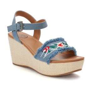 SO® Icefish Women's Wedge Sandals