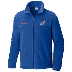 Men's Columbia Kansas Jayhawks Flanker II Fleece Jacket