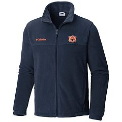 Men's Columbia Auburn Tigers Flanker II Fleece Jacket