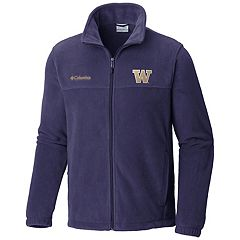 Men's Columbia Washington Huskies Flanker II Fleece Jacket