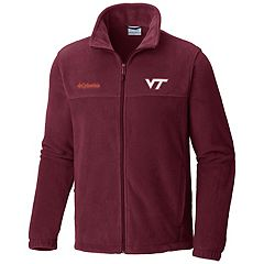 Men's Columbia Virginia Tech Hokies Flanker II Fleece Jacket