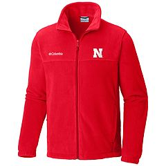 Men's Columbia Nebraska Cornhuskers Flanker II Fleece Jacket