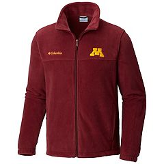 Men's Columbia Minnesota Golden Gophers Flanker II Fleece Jacket