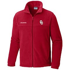 Men's Columbia Oklahoma Sooners Flanker II Fleece Jacket