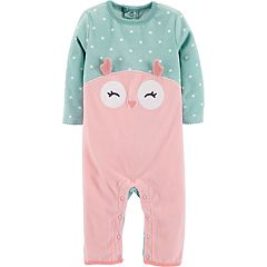 Baby Girl Carter's Owl Coverall