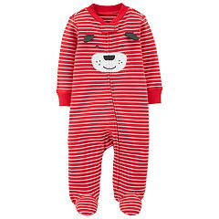 Baby Boy Carter's Striped Dog Sleep & Play