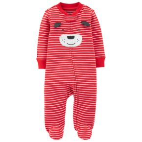Baby Boy Carter's Striped Dog Sleep & Play