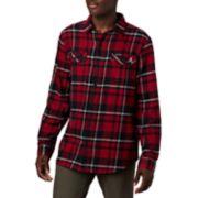 Men's Columbia Alabama Crimson Tide Flannel Shirt