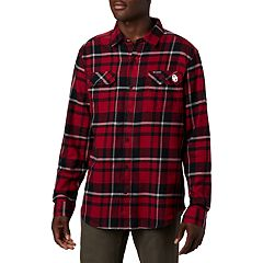 Men's Columbia Oklahoma Sooners Flannel Shirt