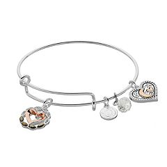 love this life 'Our Love Goes All the Way to the Moon & Back' Bangle Bracelet