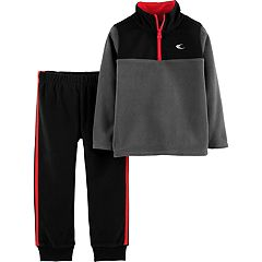 Toddler Boy Carter's Microfleece Active Top & Bottoms Set