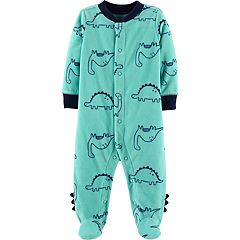 Baby Boy Carter's Microfleece Dinosaur Sleep & Play