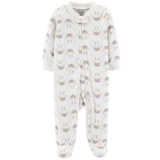 Baby Carter's Microfleece Sheep Sleep & Play