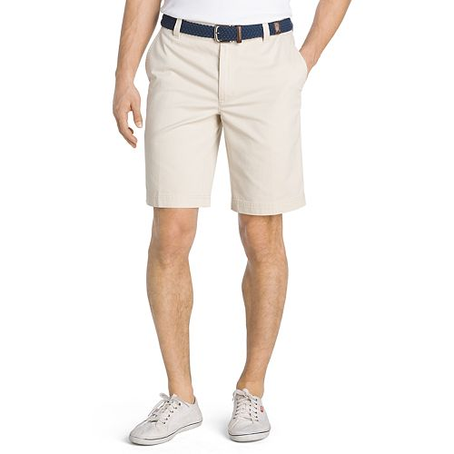 Big & Tall IZOD Saltwater Classic-Fit Flex Waist Flat-Front Shorts