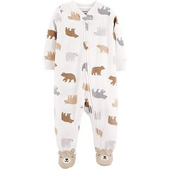 Baby Carter's Microfleece Bear Sleep & Play
