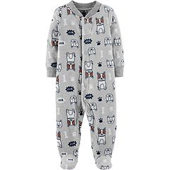 Baby Boy Carter's Microfleece Dog Sleep & Play
