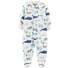 Baby Boy Carter's Animal Microfleece Sleep & Play