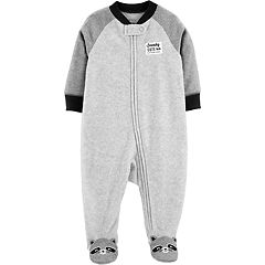 Baby Boy Carter's Microfleece Raccoon Sleep & Play