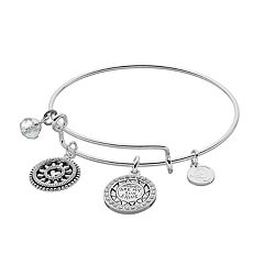 love this life 'You are my Sunshine' Charm Bangle Bracelet