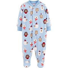 Baby Boy Carter's Microfleece Winter Bears Sleep & Play