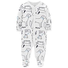Baby Boy Carter's Dog Print Sleep & Play