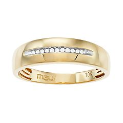 10k Gold Diamond Accent Ring