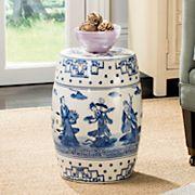 Safavieh Chinoiserie Pattern Indoor / Outdoor Stool