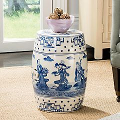 Safavieh Chinoiserie Pattern Indoor / Outdoor Stool
