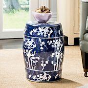 Safavieh Floral Indoor / Outdoor Stool