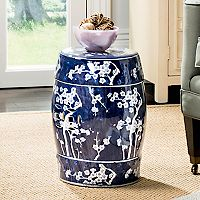 Safavieh Floral Indoor / Outdoor Stool