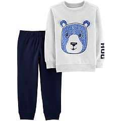 Toddler Boy Carter's Bear Tee & Jogger Pants Set