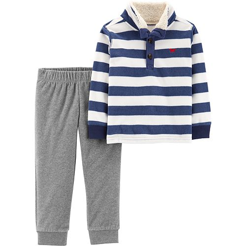 Never-Cold Whale Hello There Toddler Boys Sweatpants Elastic Waist Pants for 2T-6T