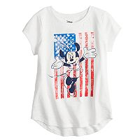 Disney's Minnie Mouse Girls 4-10 Americana Tee by Jumping Beans®