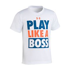 Boys 4-7 Under Armour 'Play Like A Boss' Graphic Tee
