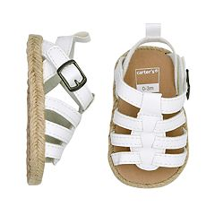 Baby Girl Carter's Strappy Sandal Crib Shoes