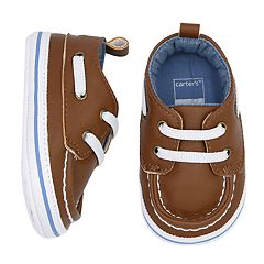 Baby Boy Carter's Boat Shoe Crib Shoes