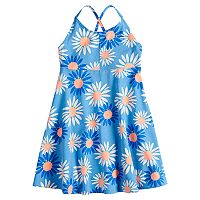 Girls 4-10 Jumping Beans® Criss-Cross Smocked Dress