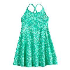 Girls 4-10 Jumping Beans® Criss-Cross Smocked Dress