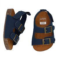 Baby Boy Carter's Cork Sole Sandals