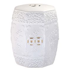 Safavieh Embellished Floral Indoor / Outdoor Stool