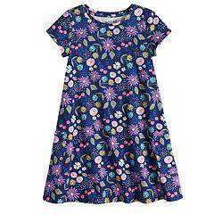 Girls 4-10 Jumping Beans® Pocket Swing Dress
