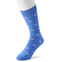 Men's Davco Novelty Crew Socks