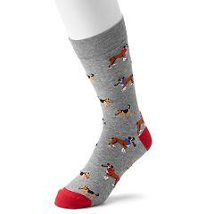 Men's Davco 3-pack Novelty Crew Socks