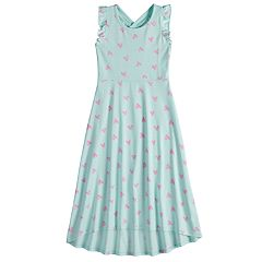 Girls 4-10 Jumping Beans® Print Racerback Maxi Dress