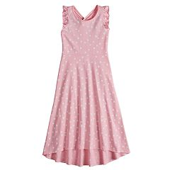 Girls 4-10 Jumping Beans® Print Racerback Maxi Dress