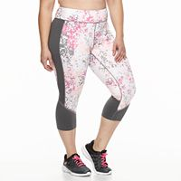 Plus Size Tek Gear® Performance Capris