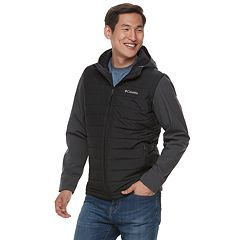 Big & Tall Columbia Oyanta Trail Thermal Coil Colorblock Hooded Hybrid Jacket