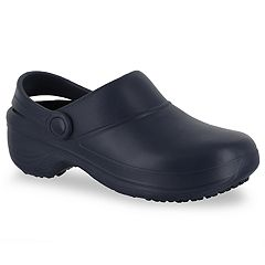 Easy Works by Easy Street Time Women's Work Clogs